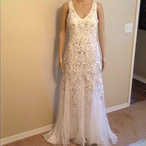 Sue Wong wedding dress strap/backless dress, 8